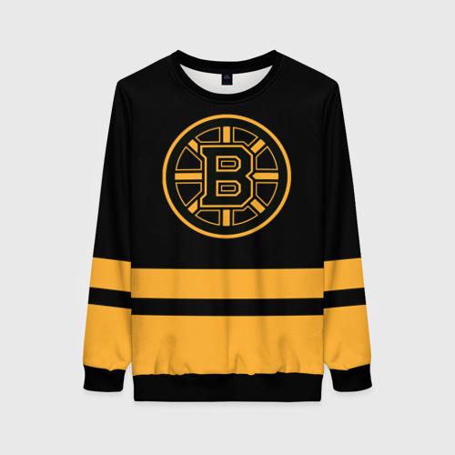 Женский 3D свитшот Бостон Брюинз НХЛ
