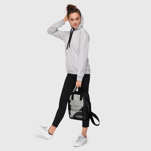 Женский рюкзак 3D с принтом Bored sherlock, фото #4
