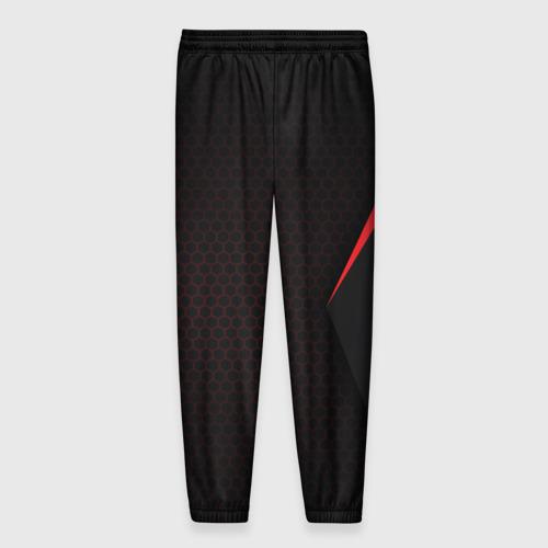 Мужские брюки 3D с принтом Mass Effect N7, вид сзади #1