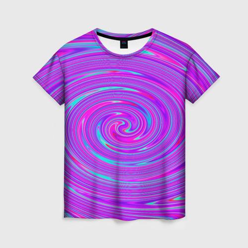 Женская 3D футболка Космическая футболка