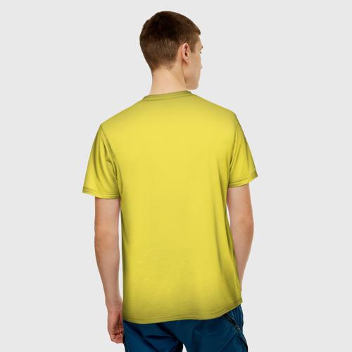 Мужская 3D футболка с принтом Убить Билла, вид сзади #2