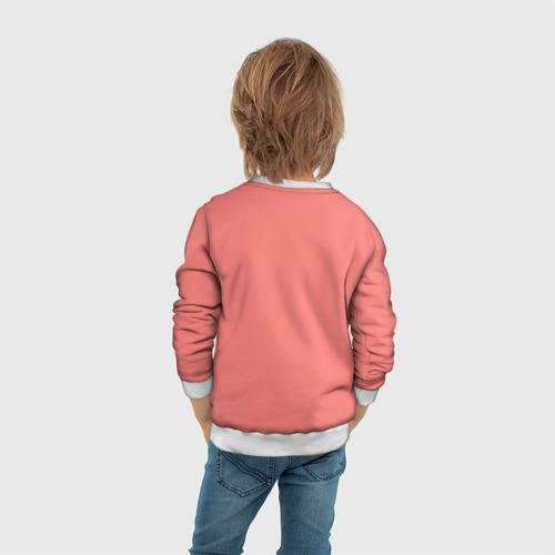 Детский 3D свитшот с принтом Harley Quinn (Mad love), вид сзади #2