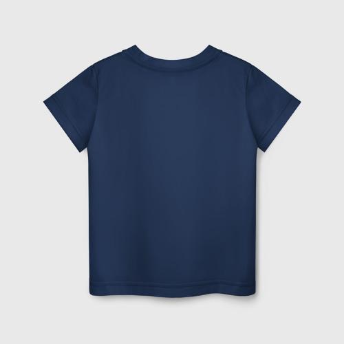 Детская футболка с принтом BRAWL STARS LEON, вид сзади #1