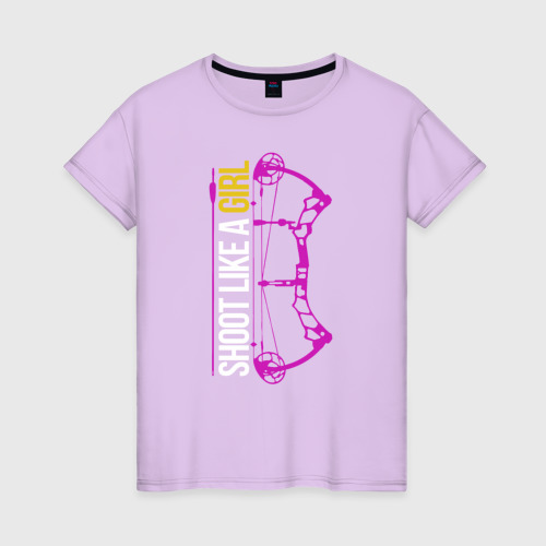 Женская футболка Shoot like a Girl