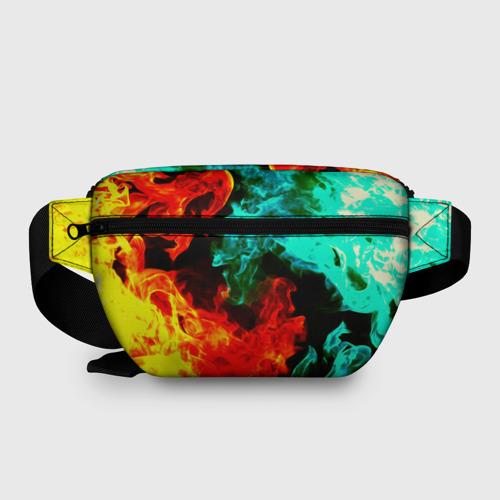 Поясная сумка 3D с принтом Brawl Stars SALLY LEON, вид сзади #1