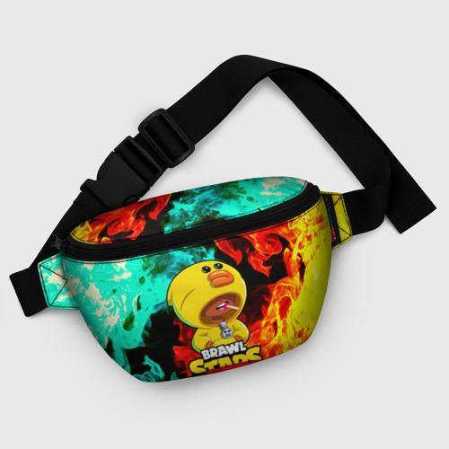 Поясная сумка 3D с принтом Brawl Stars SALLY LEON, фото #5