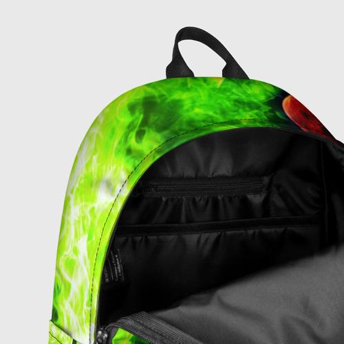 Рюкзак 3D с принтом BRAWL STARS LEON   ЛЕОН, фото #7