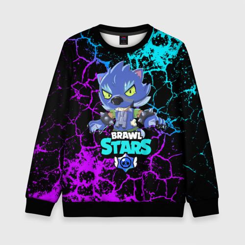 Детский 3D свитшот BRAWL STARS LEON ОБОРОТЕНЬ