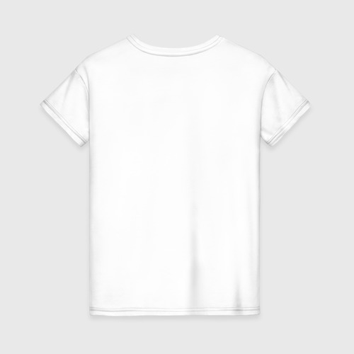 Женская футболка с принтом Life Universe Everything, вид сзади #1