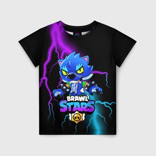 Детская 3D футболка Brawl Stars LEON