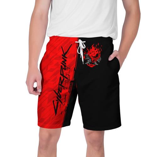 Мужские шорты 3D CYBERPUNK 2077 | КИБЕРПАНК (Z)