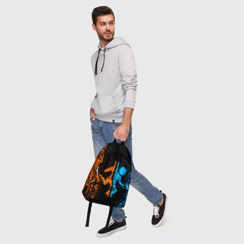 Рюкзак 3D с принтом PORTAL, фото #5