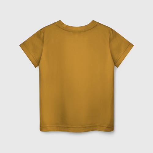 Детская футболка с принтом UNDERTALE, вид сзади #1
