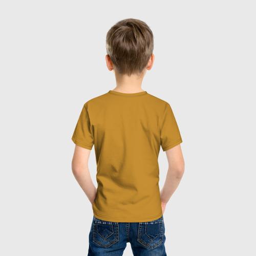 Детская футболка с принтом UNDERTALE, вид сзади #2