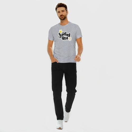 Мужская футболка премиум с принтом Зубная фея Стоматолог, вид сбоку #3
