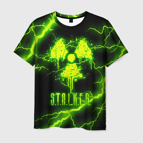 Мужская 3D футболка STALKER 2