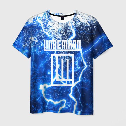 Мужская 3D футболка LINDEMANN STORM