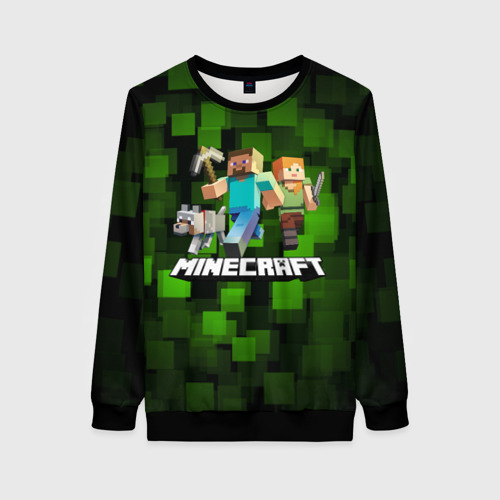 Женский 3D свитшот Minecraft / Майнкрафт