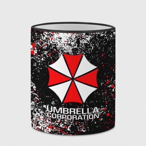 Кружка с полной запечаткой с принтом UMBRELLA CORP | АМБРЕЛЛА КОРП (Z), вид сбоку #3