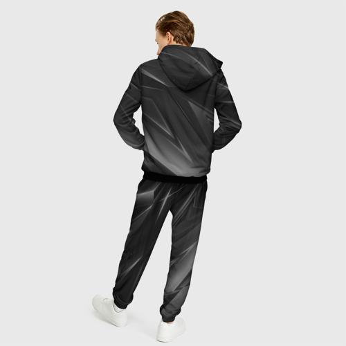 Мужской 3D костюм с принтом BMW | БМВ (Z), вид сзади #2