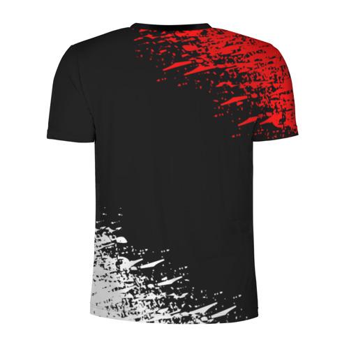 Мужская футболка 3D спортивная с принтом UMBRELLA CORPORATION, вид сзади #1