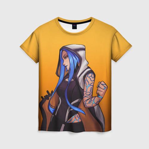 Женская 3D футболка Maya