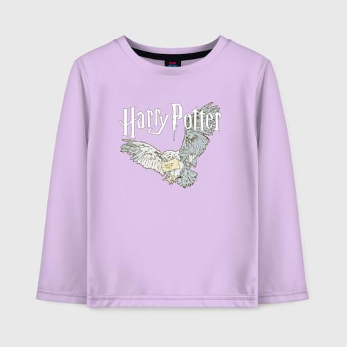 Детский хлопковый лонгслив Гарри Поттер (Букля)