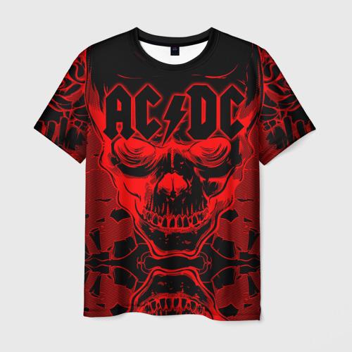 Мужская 3D футболка AC/DC