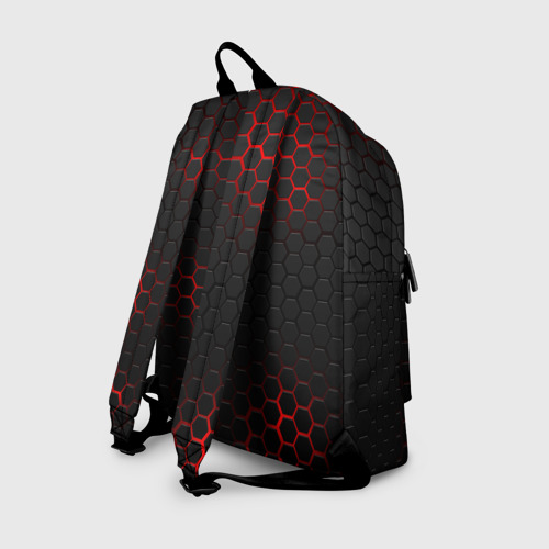 Рюкзак 3D с принтом BRAWL STARS VIRUS 8-BIT   БРАВЛ СТАРС (Z), вид сзади #1