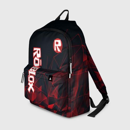 Рюкзак 3D с принтом ROBLOX, вид спереди #2
