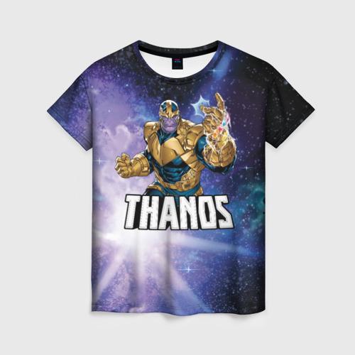 Женская 3D футболка Thanos