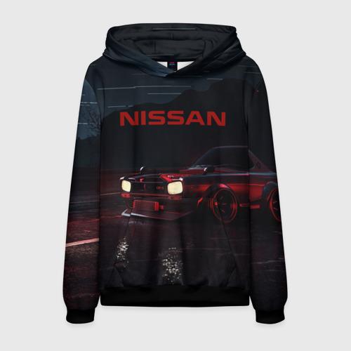 Мужская 3D толстовка NISSAN | НИССАН