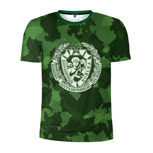 Мужская футболка 3D спортивная Пограничные Войска