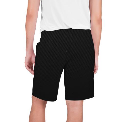 Мужские шорты 3D с принтом AUDI   АУДИ, вид сзади #1