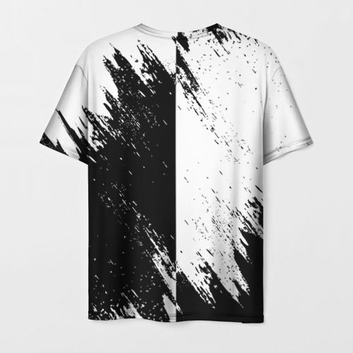 Мужская 3D футболка с принтом ASSASSIN'S CREED, вид сзади #1