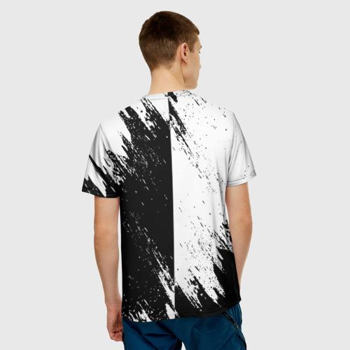Мужская 3D футболка с принтом ASSASSIN'S CREED, вид сзади #2