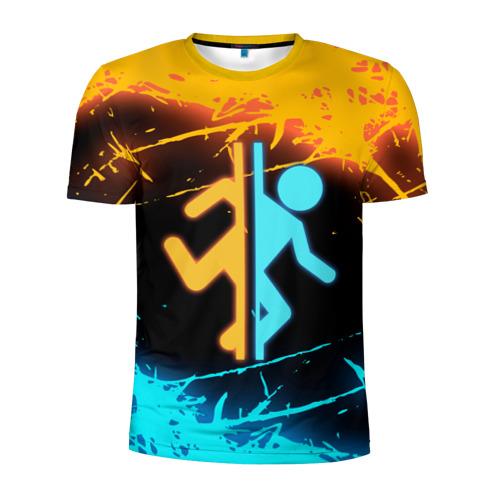 Мужская футболка 3D спортивная PORTAL