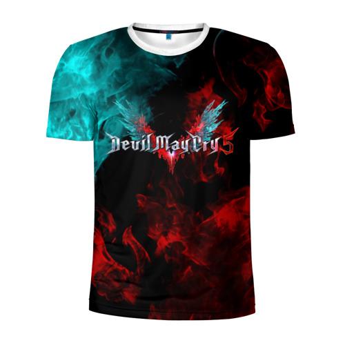 Мужская футболка 3D спортивная DEVIL MAY CRY