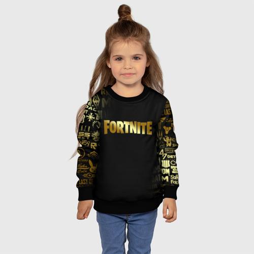 Детский 3D свитшот с принтом FORTNITE | ФОРТНАЙТ, фото #4