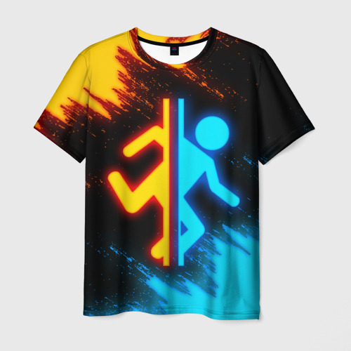 Мужская 3D футболка PORTAL | ПОРТАЛ (Z)