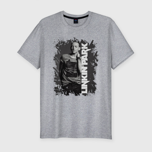 Мужская футболка премиум LINKIN PARK | CHESTER BENNINGTON (Z)