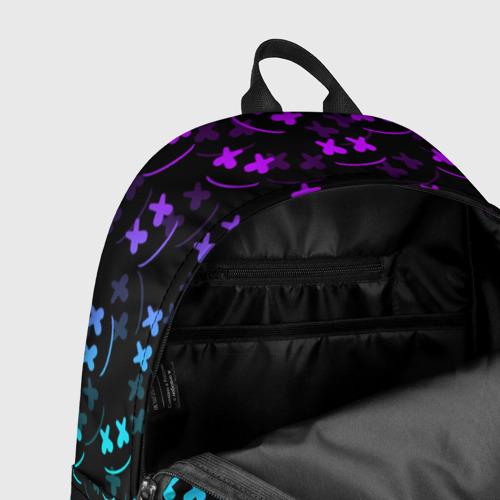 Рюкзак 3D с принтом FORTNITE X MARSHMELLO / ФОРТНАЙТ, фото #7