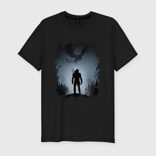 Мужская футболка премиум ВЕДЬМАК | The Witcher
