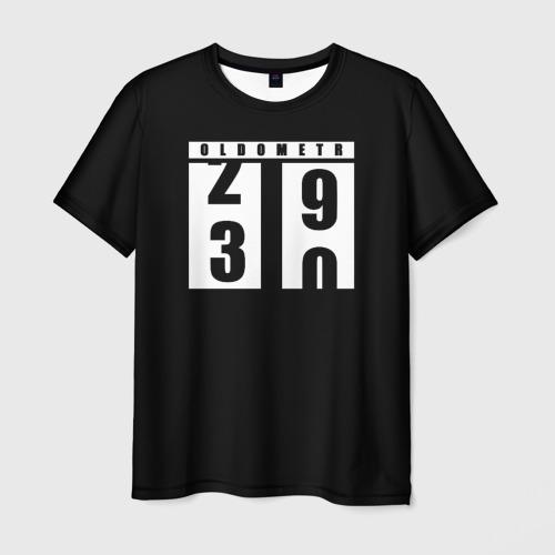 Мужская 3D футболка OLDOMETR 30 лет