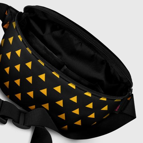 Поясная сумка 3D с принтом ЗЕНИЦУ (КИМОНО) | КЛИНОК РАССЕКАЮЩИЙ ДЕМОНОВ (Z), фото #6