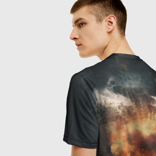 Мужская 3D футболка с принтом Sabaton Band, вид сзади #2
