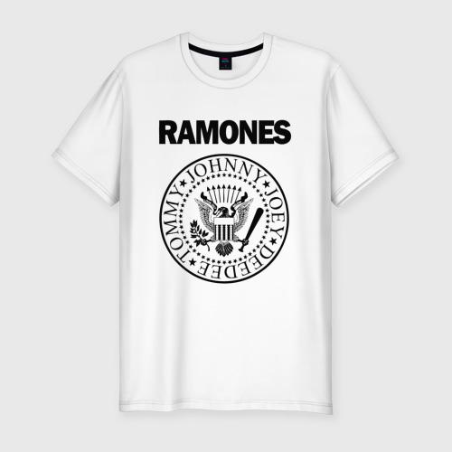 Мужская футболка премиум RAMONES / РАМОНЕС