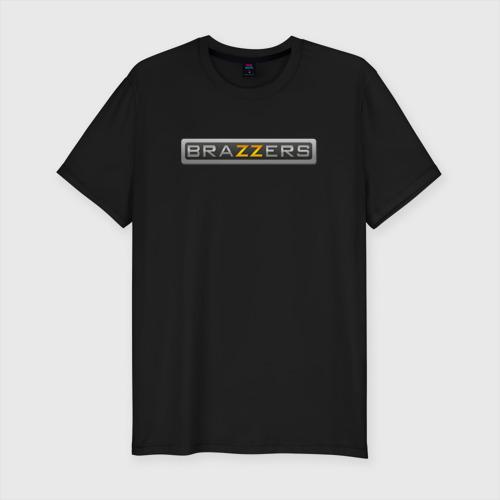 Мужская футболка премиум BRAZZERS | БРАЗЗЕРС (Z)