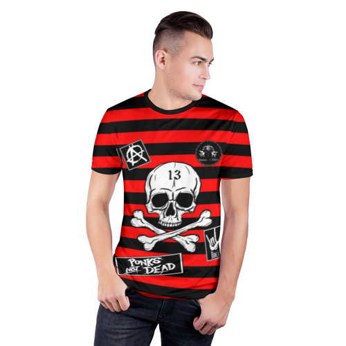 Мужская футболка 3D спортивная с принтом КиШ КНЯЗЬ, фото на моделе #1