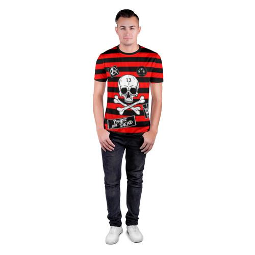 Мужская футболка 3D спортивная с принтом КиШ КНЯЗЬ, вид сбоку #3